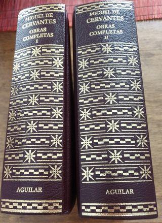 Obras completas Miguel de Cervantes. Aguilar