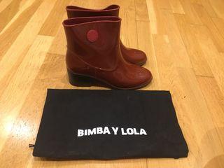 Botines agua Bimba y Lola