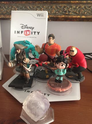 Wii + juego Infinity Disney + juego Star wars