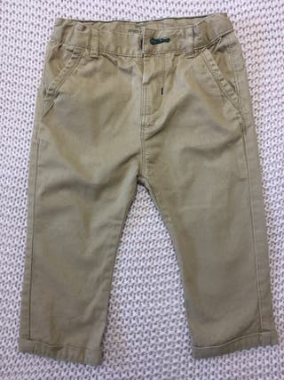 Pantalón bebe Zara 9-12 meses, 80 cm