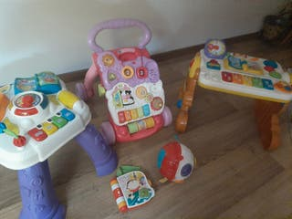 Lote juguetes educativos