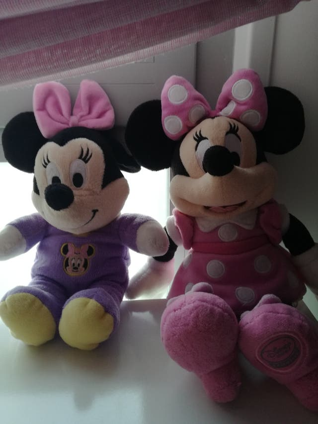 Minnie Mouse y baby Minnie