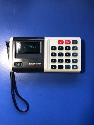 Calculadora Vintage Casio Mini CM-604