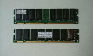 Tarjetas de Memoria RAM
