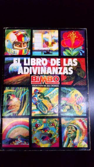 """Àlbum de cromos """"El libro de las adivinanzas"""""""