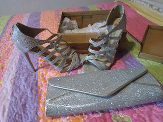 zapatos y bolso por 35 euros