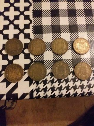 monedas antiguas 2,50 pesetas franco