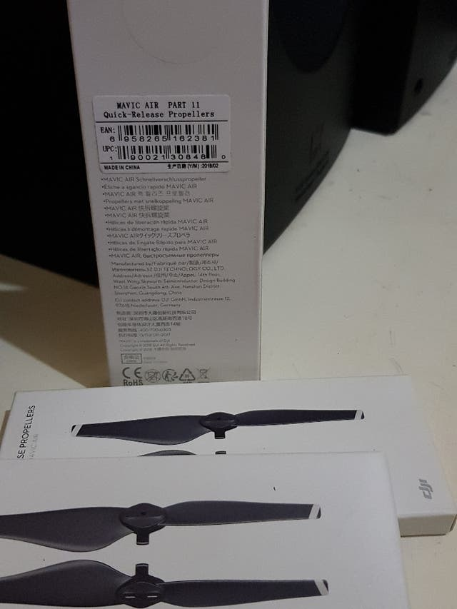 release propellers for mavic air