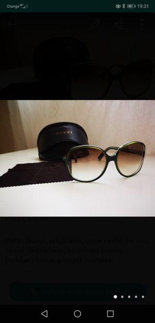Gafas Gucci Color verde oscuro