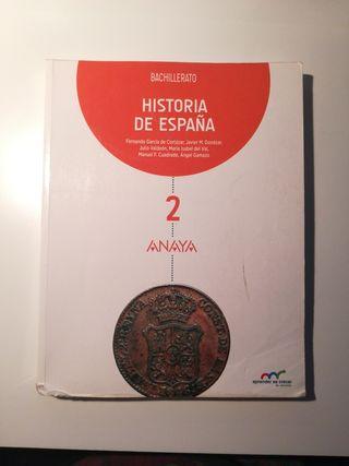 Historia de España (Anaya) - 2° Bachillerato