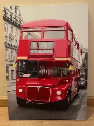 Cuadro autobús inglés