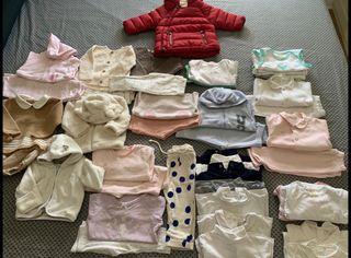 Pack ropa Bebé de 1 a 9 meses