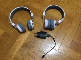 2 auriculares inalámbricos (por bluetooth)