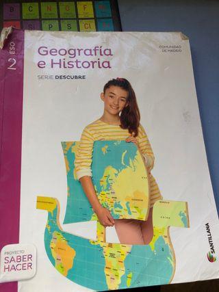 Libro geografia e historia 2do ESO