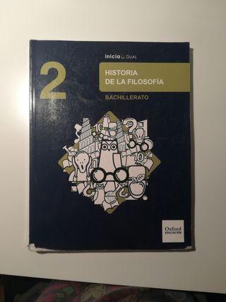 Historia de la Filosofía (Oxford) - 2° Bachiller