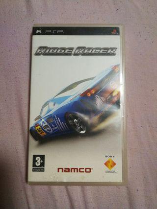 juego psp ridge racer