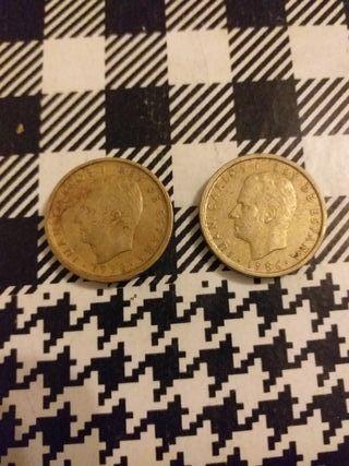 monedas antiguas 100 pesetas