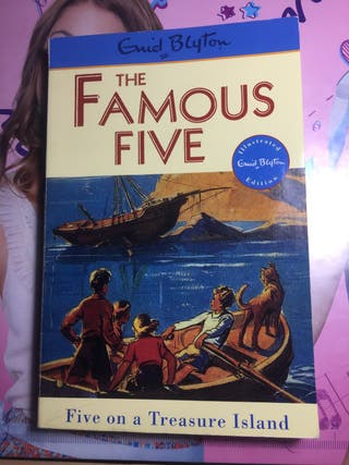 The Famous Five on a Treasure Island