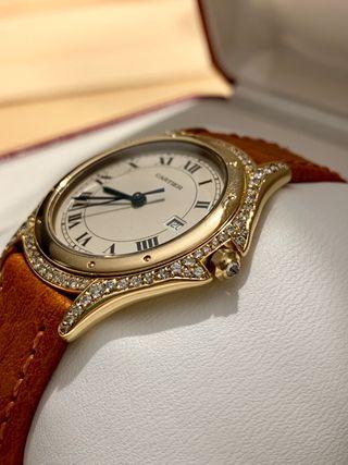 Reloj Cartier Cougar DIAMONDS