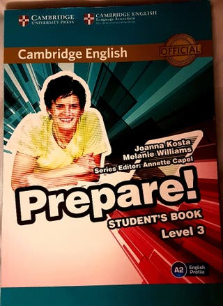 PREPARE! STUDENT BOOK LEVEL 3
