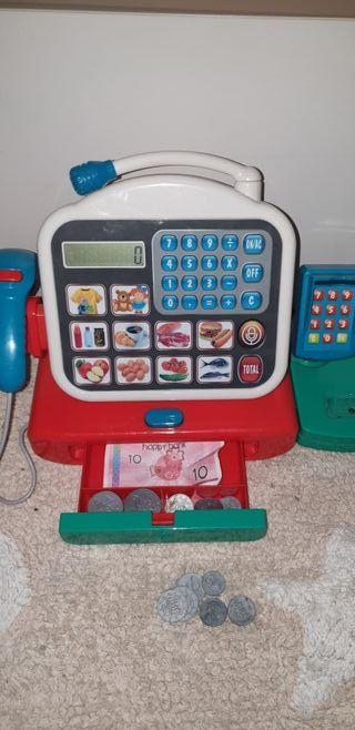 Caja/Máquina registradora Digital niños