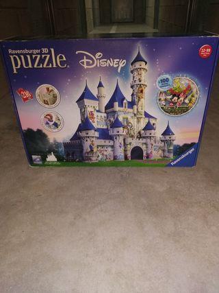 Puzzle Disney Castillo 3D NUEVO