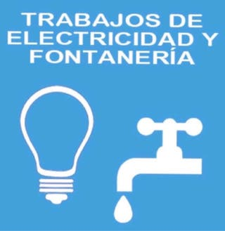 ELECTRICISTA FONTANERO