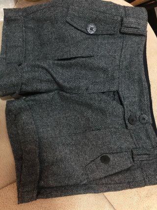 Pantalones cortos invierno