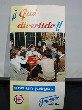 Folleto publicitario Fournier Año 67