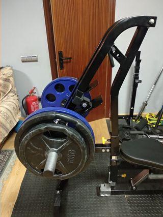 Accesorio leg press POWERTEC. Prensa de pierna