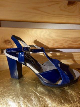 Zapatos mujer tacón Pitillos