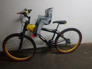 bici con silla tandem