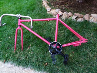 fixie bicicleta bici