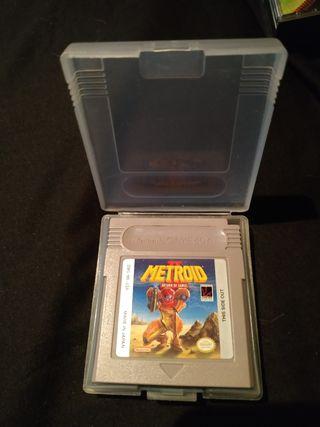 Metroid II Gameboy