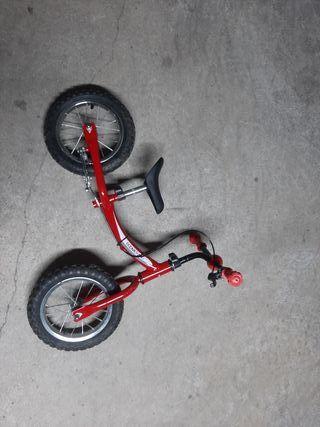 bicicleta sin pedales de 2 a 4 años