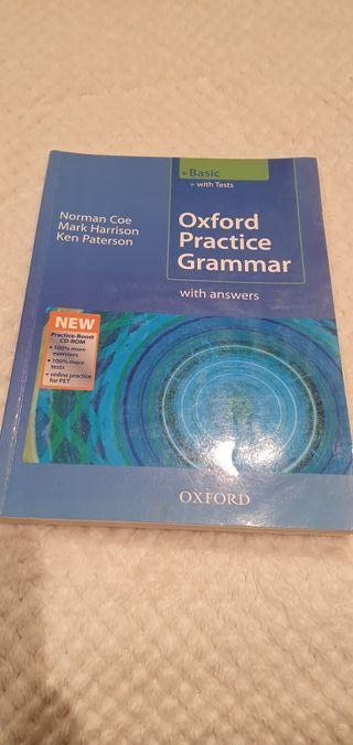 Libro de Inglés Oxford Practice Grammar