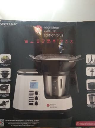 Monsieur cuisine. Maquina tipo Thermomix Lidl.