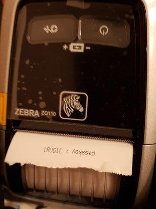 impresora tickets zebra zq110
