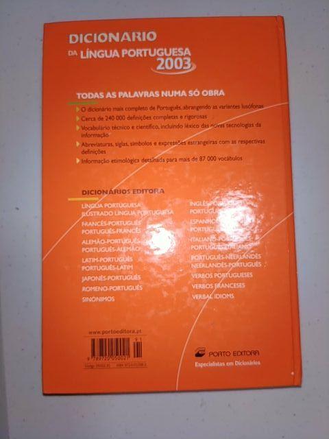 Diccionário da lingua portuguesa