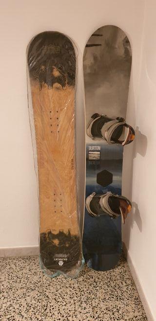 tabla snowboard burton + EXTRAS DE REGALO