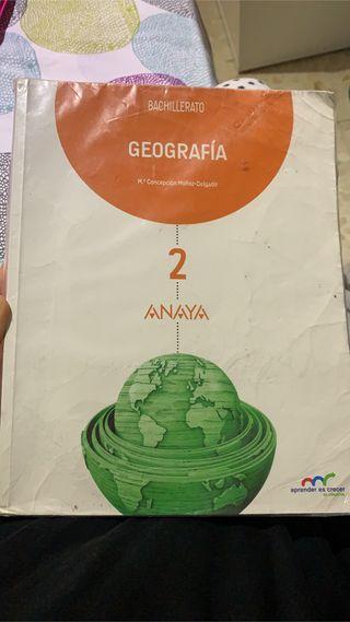 Libro de geografía anaya 2 bachillerato