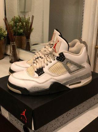 Air Jordan Retro 4 (42,5) OG White Cement 2016