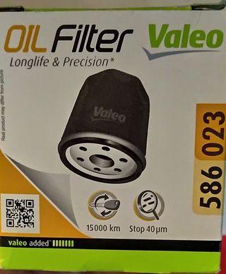 Filtro de aceite Valeo 586 023