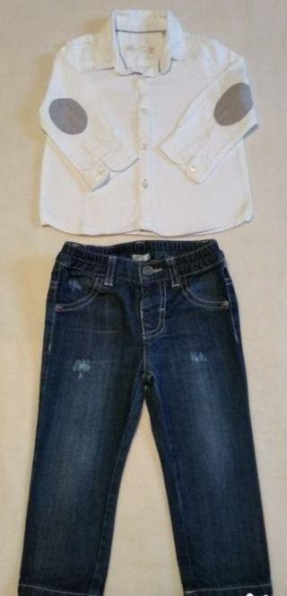 Suéter+pantalón talla 9/12 meses