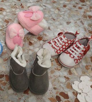 Lote zapatos bebé NUEVOS