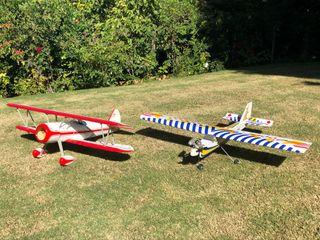 Pack aviones de aeromodelismo + Control remoto