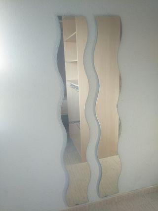 Espejo doble pared o armario