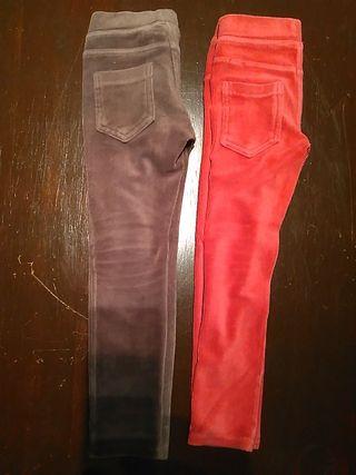 BENETTON pana pantalones talla 4/5.