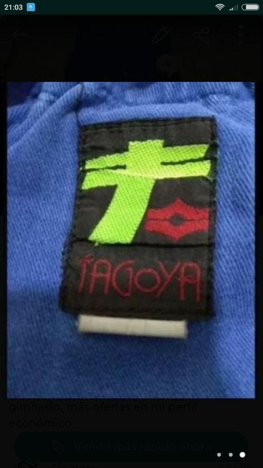 Traje yudo kárate Tagoya