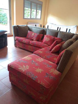 Sofá rústico y muy cómodo ext e int